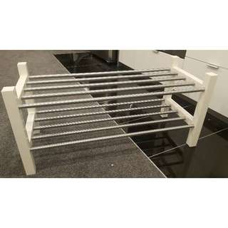 2 x IKEA Tjusig shoe rack (4 months old)