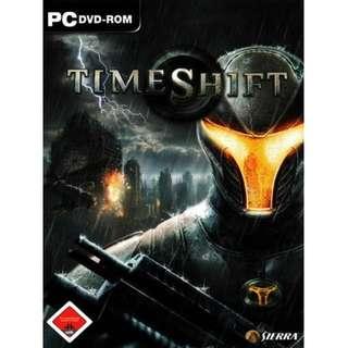 TimeShift PC Games || 1 DVD