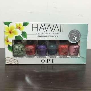 OPI指甲油組合 夏威夷限定