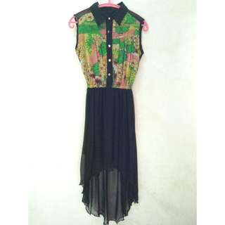 Chiffon Dress Import