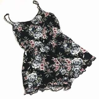 CO Floral Playsuit Romper