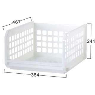聯府 KEYWAY 開放式整理架(XXL)6入 P50086 收納盒/整理箱/置物籃