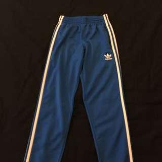 Adidas Original 藍色運動褲 復古
