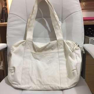 MUJI white bag
