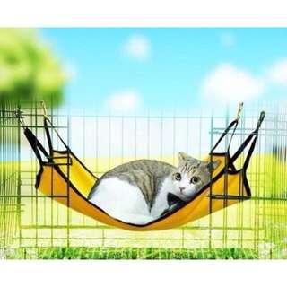 透氣棉絨貓吊床(墨綠色)😻貓咪/蜜袋鼯/貂睡床