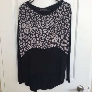 Zara black And White Collection Long Sleeve