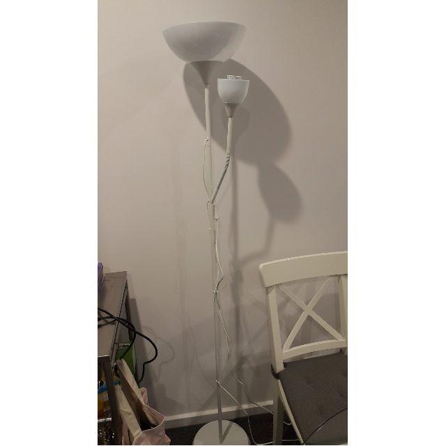 2 x IKEA Not Floor lamp (4 months old)