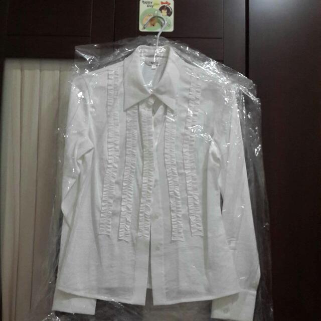 高級絲綿質 女襯衫