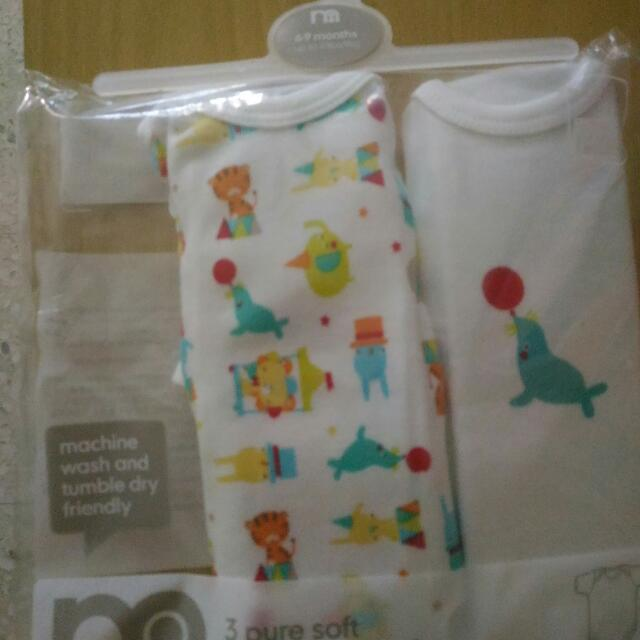 84d46055b5c1 6 to 9 Months Mothercare Rompers