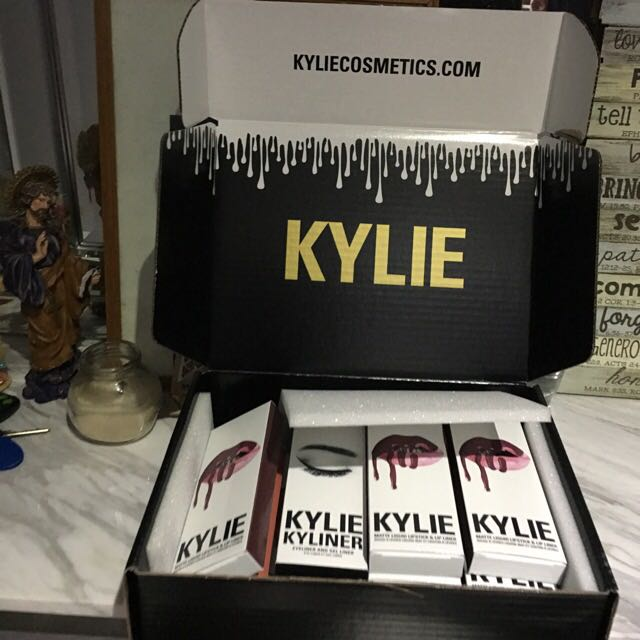 Authentic Kylie Cosmetics Lip Kits, Gloss, Metal, Kyshadow And Kyliner