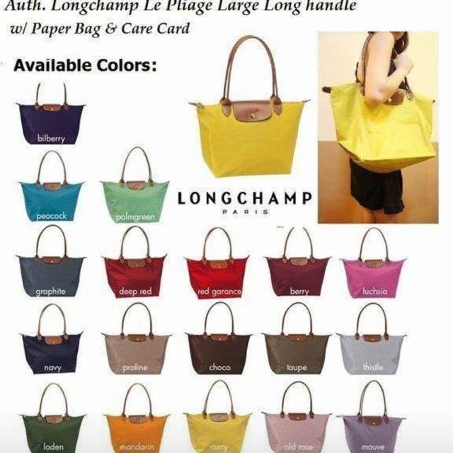 734a9ce9e2c1 Best Buy!!Authentic Longchamp Le Pliage   Cabas Collections