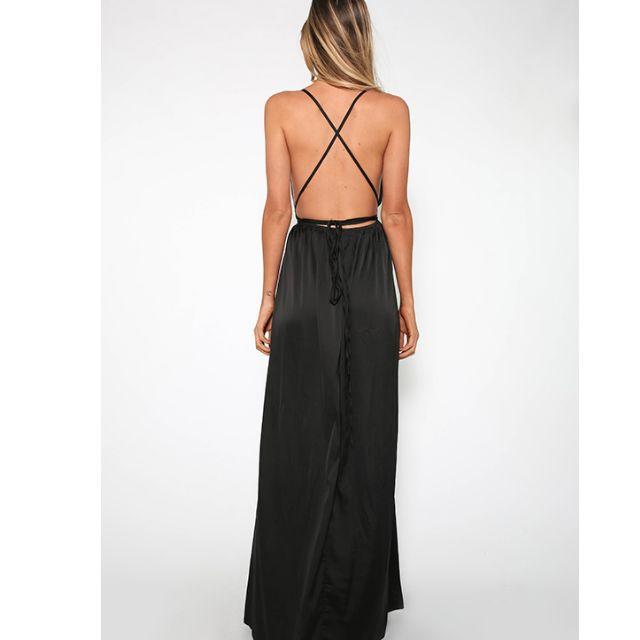 Black Formal Dress - Sz 12