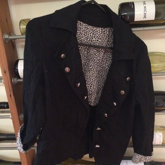 Black Summer Jacket