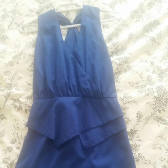 Blue Dress Size 8
