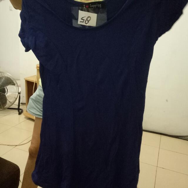 Blue Navy Mini Dress