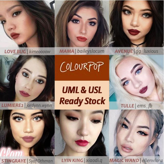 [BN] Colourpop Ultra Matte Lip & Ultra Satin Lip