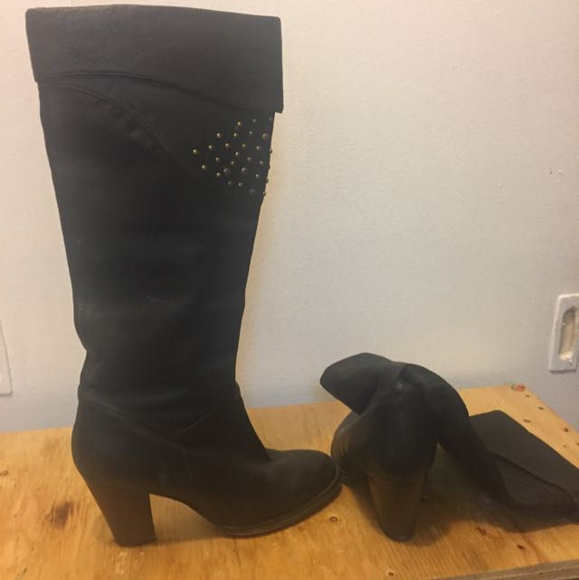 Boots (soft Leather)Sz 7