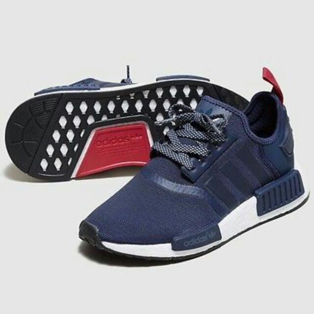 c8616d63c Brand New Adidas NMD R1 NAVY BLUE (S76011)