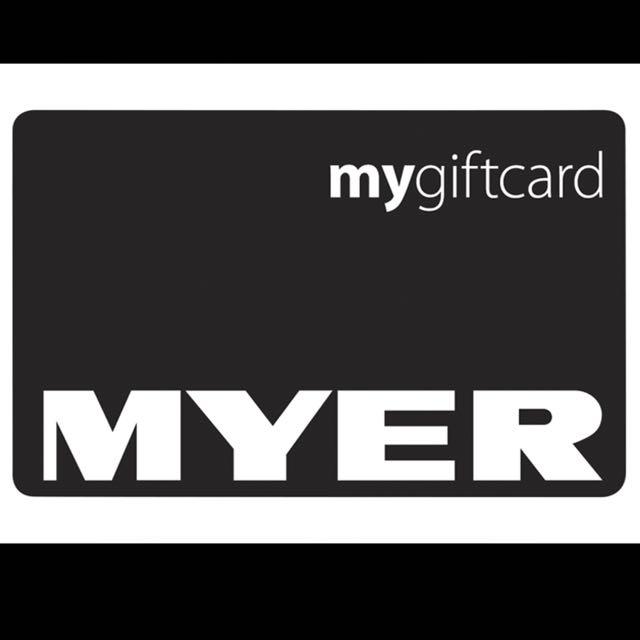 Brand New Myer Gift Card $50