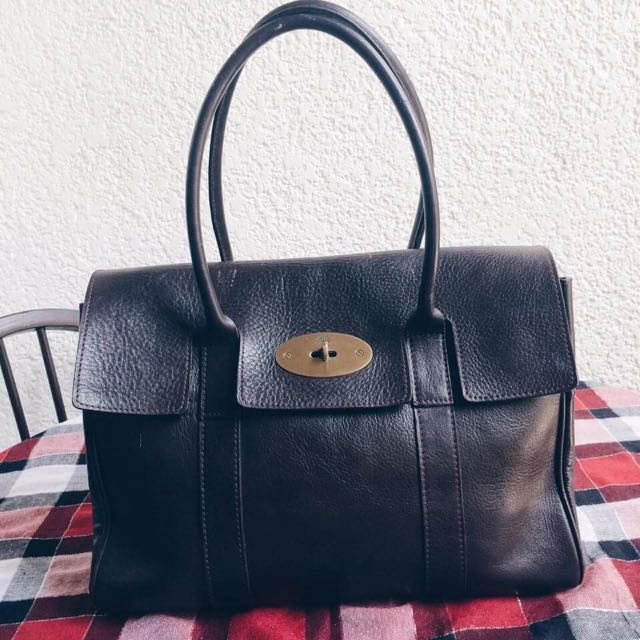 Brown Mulberry Bayswater Bag