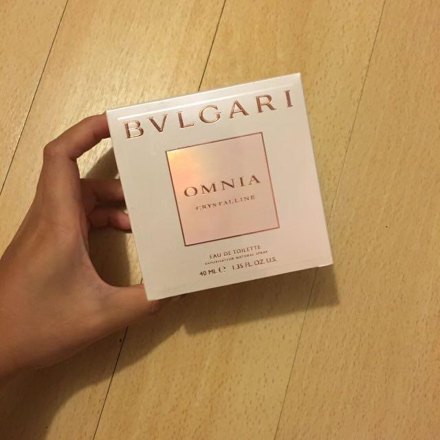 【BVLGARI 寶格麗】晶澈女性淡香水 40ml