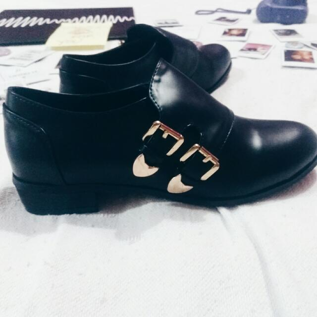 Chelsea Buckled Boots