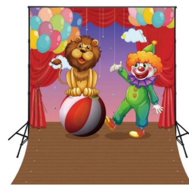 Circus backdrop Hire
