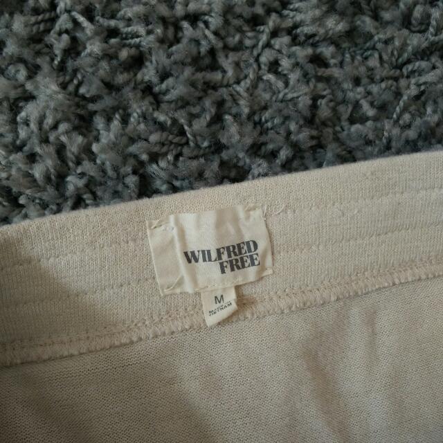 Cream Wilfred Skirt