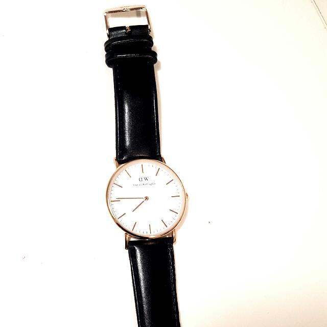 Daniel Wellington 40mm BLACK/GOLD rep