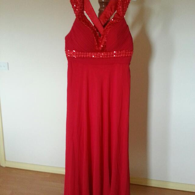 Evening Dress (new) size 14