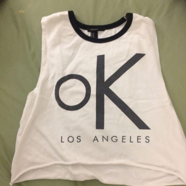 F21 Ok LA shirt