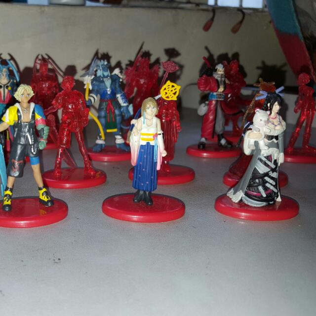 Final Fantasy X Figures