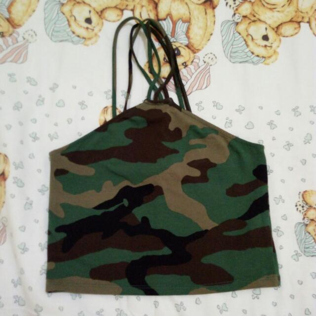Forever 21 Army Top