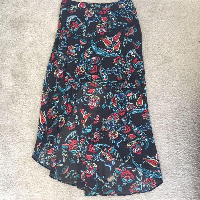 Forever 22 High Low Skirt