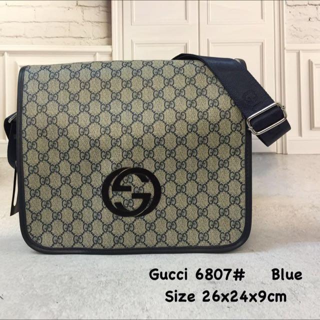 b65ae56ebbf1 GC Gucci Man Sling Bag 1:1, Men's Fashion, Bags & Wallets on Carousell