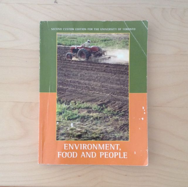 GGR107 Environment,Food and People 2nd edition