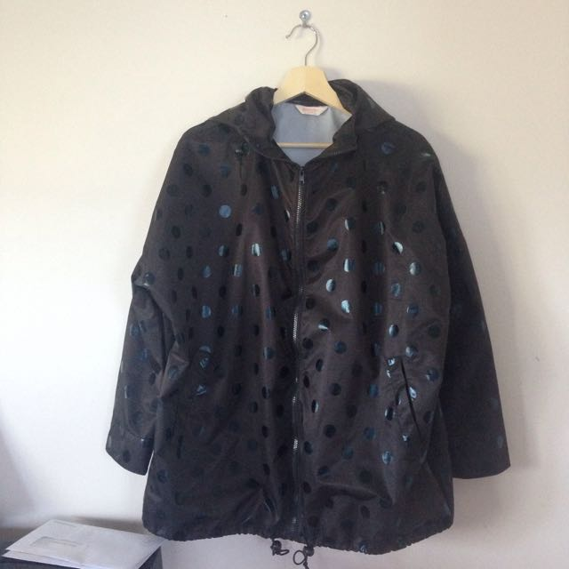 GORMAN Black Dot Raincoat S/M