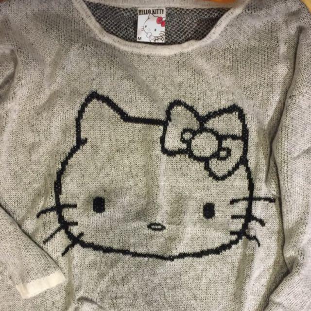 Hello Kitty Oversized Sweater