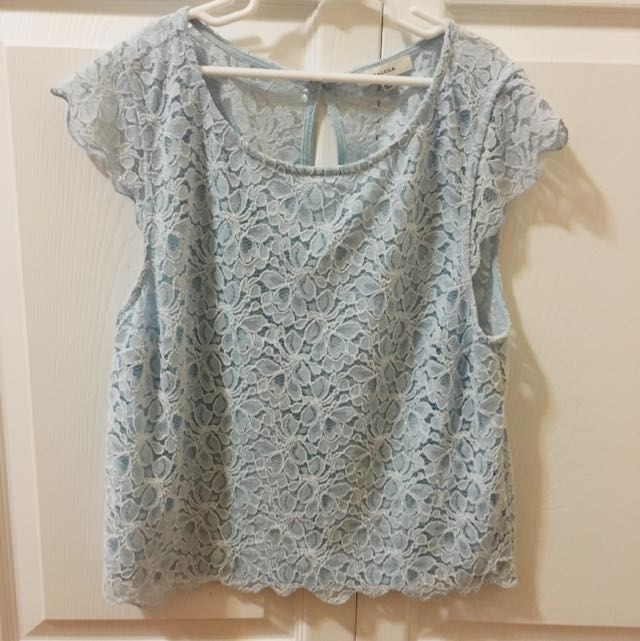 Keyhole Lace Shirt TALULA Artizia