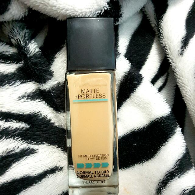 MAYBELLINE - FIT ME MATTE & PORELESS FOUNDATION