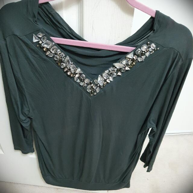 Mexx Bejeweled Top Size SMALL