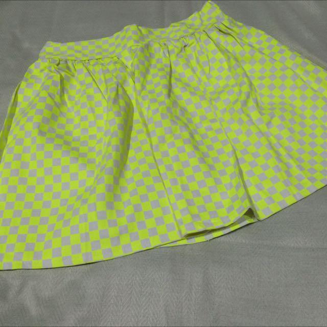 Mini Skirt (bright yellow)