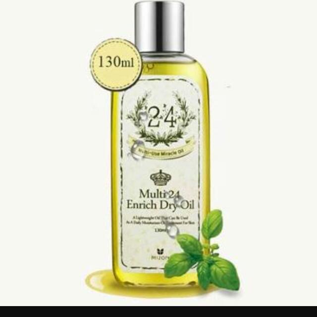 Mizon Multi 24 Enrich Dry Oil 130ml