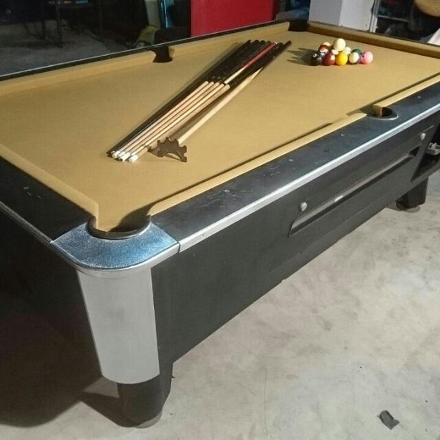 SOLD Murrey Pool Table Snooker Table Sports Other On Carousell - Murrey billiard table