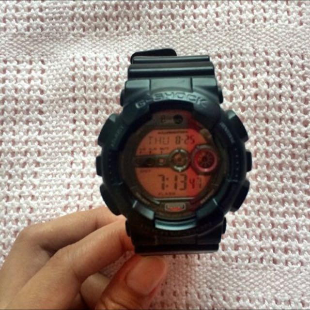 original G-SHOCK rubber black diameter 5cm
