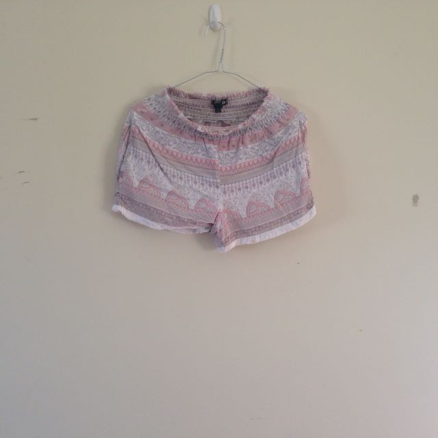 Pastel Patterned Shorts from Cotton On