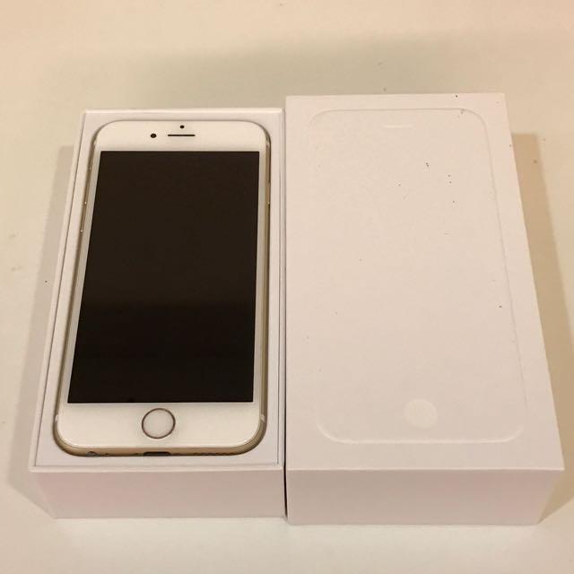 售iphone6 64g 金色 外觀良好 無刮傷 無維修紀錄 女用機 配件全新未使用
