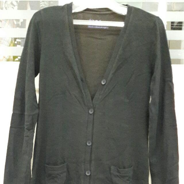 PRELOVED Giordano Long Cardigan