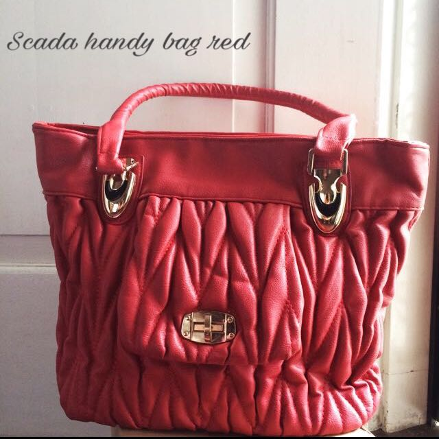 Scada Handy Bag Red