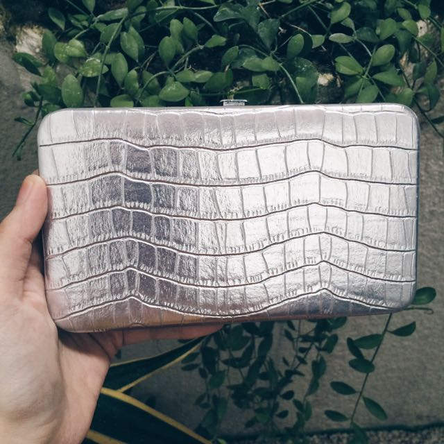Silver Thin Wallet